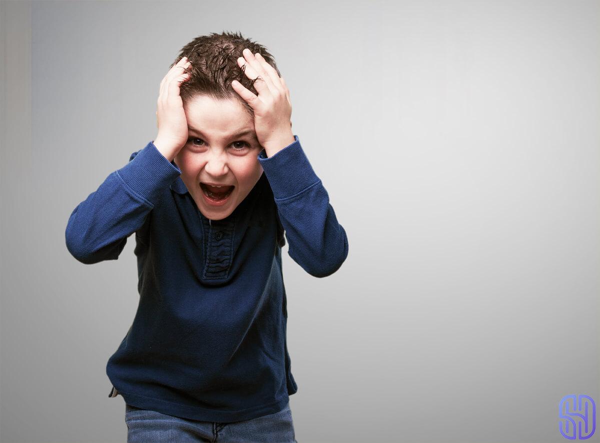 رفتار با کودک پرخاشگر