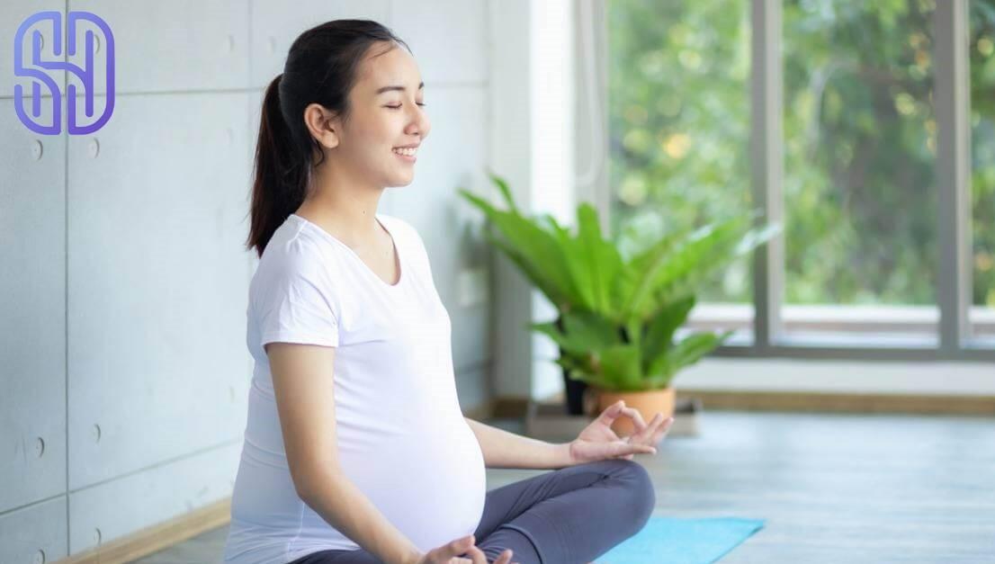 ورزش یوگا برای کاهش استرس بارداری