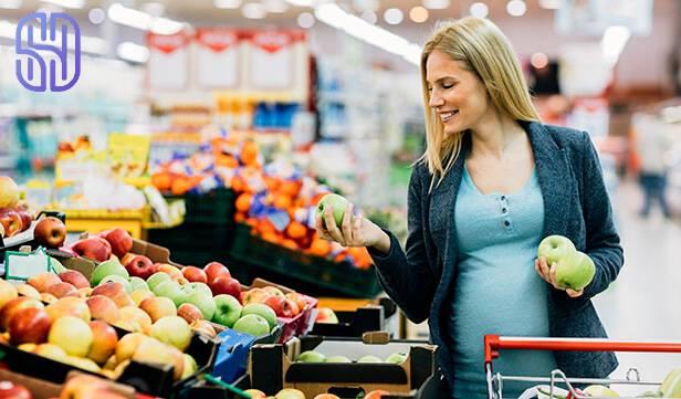 اهمیت رژیم سالم در بارداری